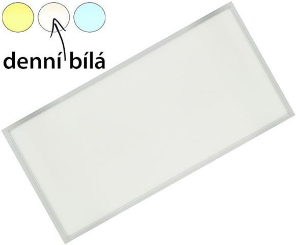 siberner haengender led panel 600 x 1200mm 75w tageslicht gute leds de. Black Bedroom Furniture Sets. Home Design Ideas