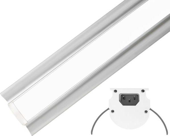 Linear industriell LED Leuchte 120cm 60W Warmweiß