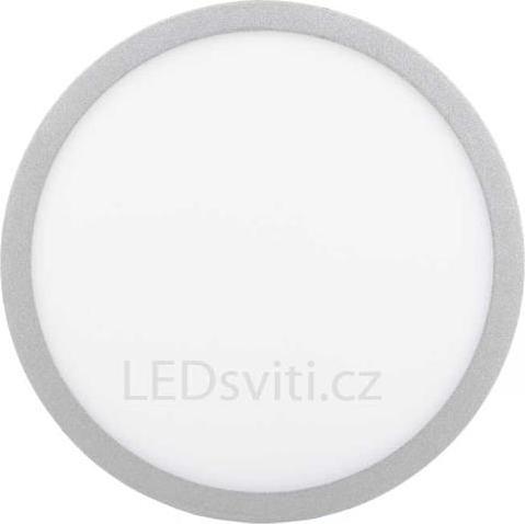 Silber Kreis Einbau-Panel 400mm 36W Warmweiß