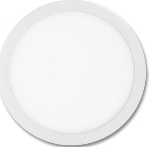 Weißes rundes LED Einbaupanel 400mm 36W Tageslicht
