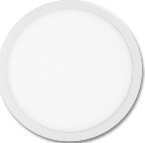Weißes rundes LED Einbaupanel 500mm 36W Kaltweiß