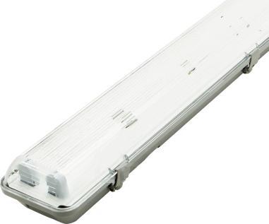 LED Feuchtraumleuchte 2x 120cm IP65 (ohne Röhren)