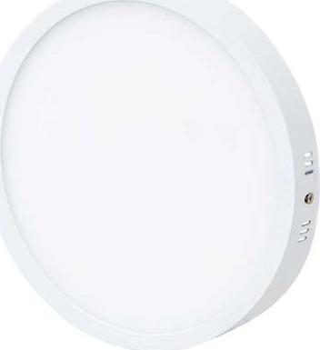 Weiß Kreis Oberflächenmontage LED panel 600mm 45W Warmweiß
