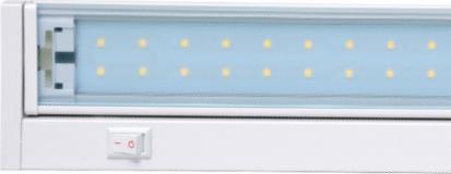 Weiße schwenkbar LED Licht in der Küche 58cm 10W