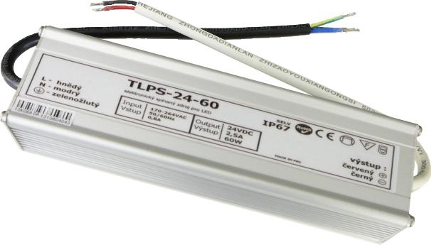 Outdoor Power Quelle 24V 2,5A 60W IP67