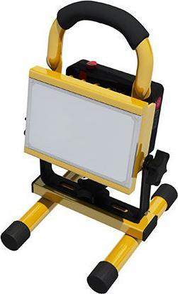 LED reflektor 10W mit batterie profi handy Tageslicht