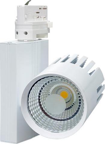 Weiß 3-phase Leiste LED reflektor 40W Tageslicht