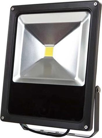 Schwarz LED reflektor daisy 50W Kaltweiß
