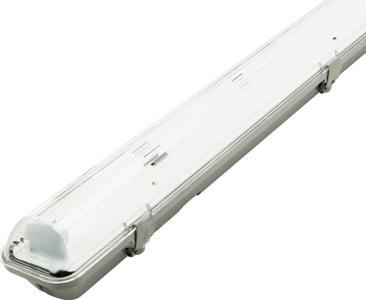 LED Feuchtraumleuchten 1x 150cm (ohne Röhren)