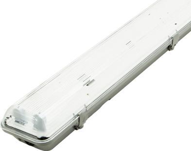 LED Feuchtraumleuchten 2x 60cm (ohne Röhren)