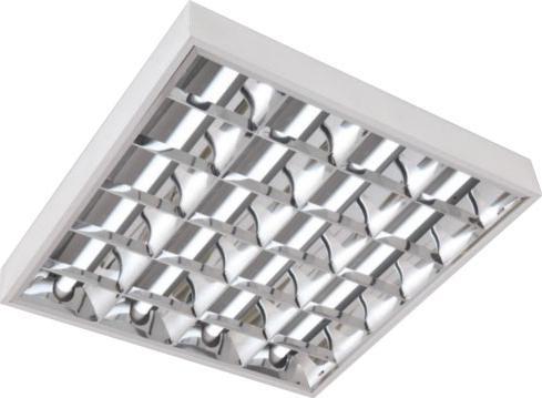 LED aufliegende Leuchte 4x 60cm (ohne Röhren)