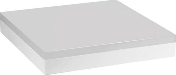 Weisses LED lampe decken smart-s quadrat 18W Warmweiß