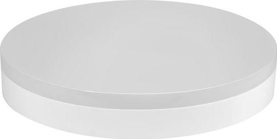 Weiße aufliegende runde LED Leuchte smart-r 18W Warmweiß