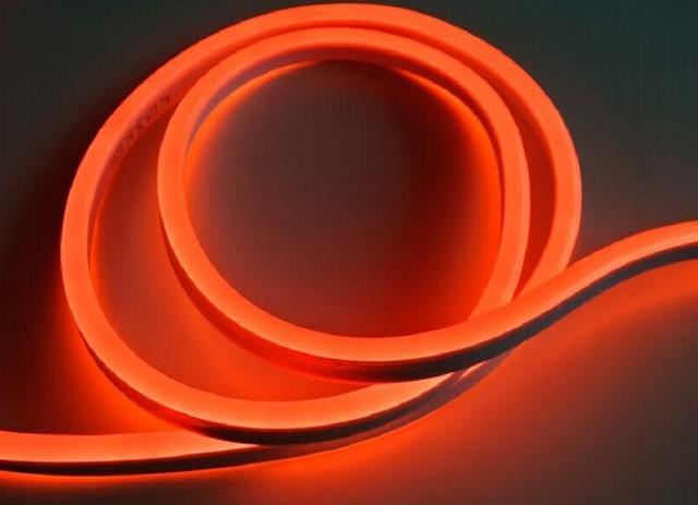LED neon streifen 9W/m rote