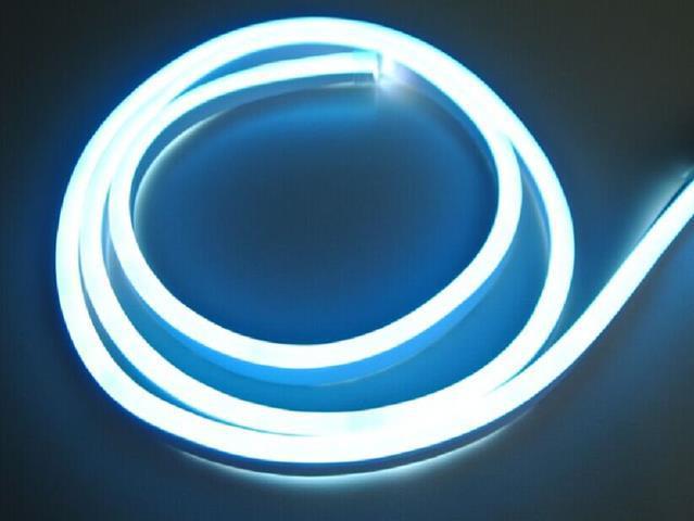 LED neon Streifen 9W/m blau