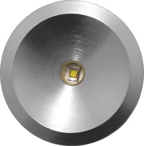 Metall vertieft LED Leuchte 3W Kaltweiß