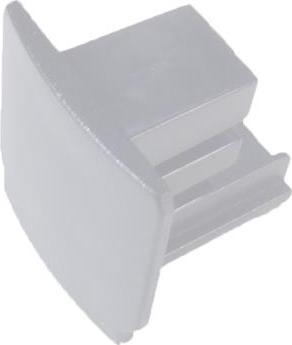 Záslepka krátká pro bielou 3-Fázovou lištu