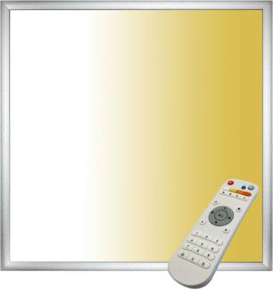 Silber ausgesetzt LED panel 40W 600 x 600 s Fahrerem 3000-6000K
