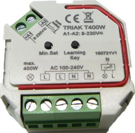 LED Triac Dimmer max.400W