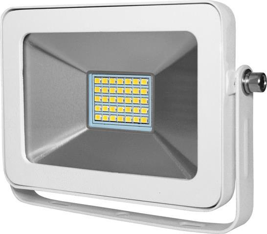 Biely LED reflektor RW 15W teplá biela