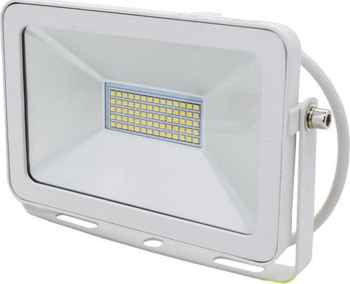 Biely LED reflektor RW 30W denná biela