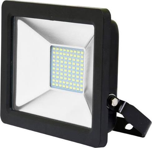 Čierný LED reflektor 30W city 5000K denná biela