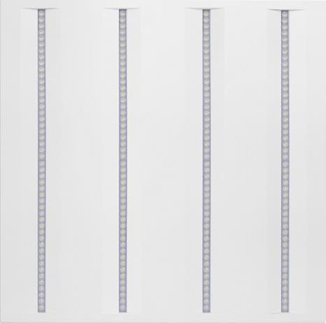 Weiß LED panel 600 x 600mm 36W virgo profi n4a Tageslicht
