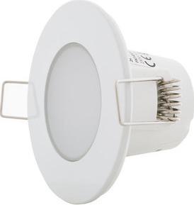 Biele vestavné podhledové LED svietidlo 5W denná biela