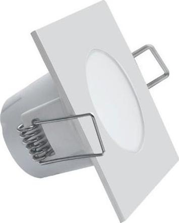 Weiße eingebaut Decke LED Leuchte Quadrat 5W Warmweiß