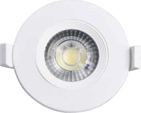 Weisses eingebaute decken LED lampe jimmy 7W Tageslicht