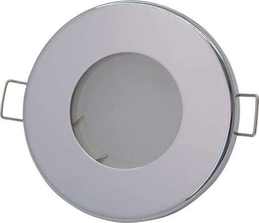 Chrom eingebaut Decke LED Leuchte 5W Warmweiß IP44 230V