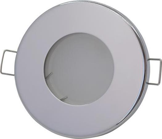 Chrom eingebaut Decke LED Leuchte 5W Kaltweiß IP44 230V