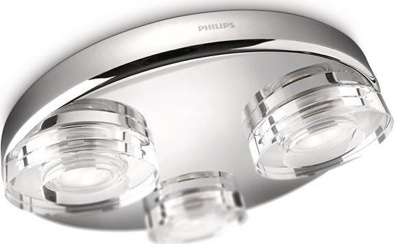 Philips LED mira Deckenleuchten zu Bad 3x6w 32209/11/16