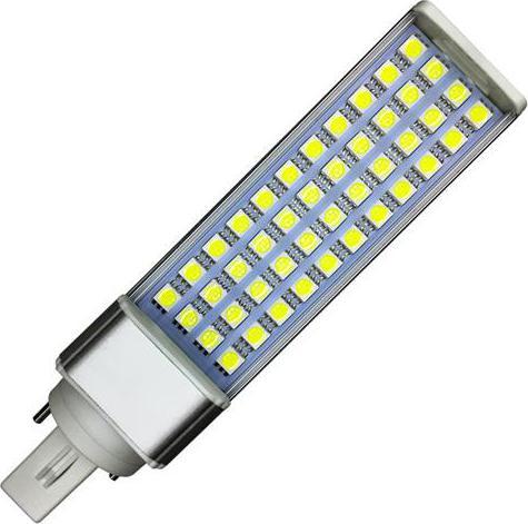 LED žiarovka G24 9W studená biela
