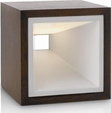 Philips LED kubiz Schreibtischleuchte rust 2x2,5w selv 43268/86/16