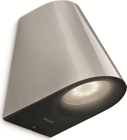 Philips LED virga Leuchte Außen Wand 2x3w selv 17288/47/16