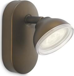 Philips LED toscane Leuchte Stelle bronz 3w 53240/06/16