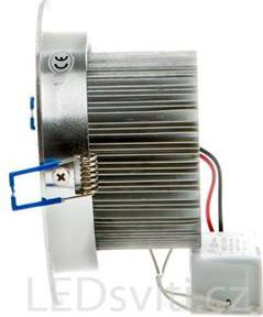 LED Einbaustrahler 9x 1W Tageslicht