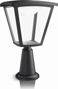 Philips LED cottage Außen Leuchte Spalte schwarz klein 4.5w 15482/30/16