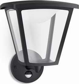 Philips LED cottage Außen Wandleuchte schwarz 4.5w 15488/30/16