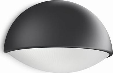 Philips LED dust Außen Wandleuchte schwarz 3w 16407/93/16
