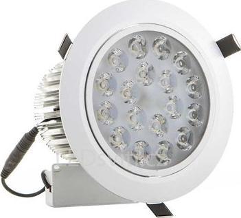 LED spotlicht 18x 1W Tageslicht