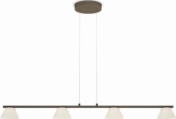 Philips LED vendee Pendelleuchten bronz 4x4,5w selv 36021/06/16
