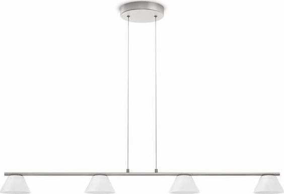 Philips LED vendee Pendelleuchten Chrom matt 4x4,5w selv 36021/17/16