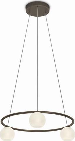 Philips LED varande lampe haengende bronze 3x4,5w selv 36693/06/16