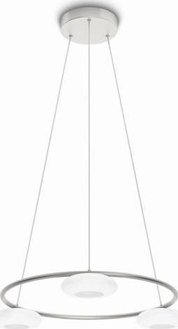 Philips LED tarbert Pendelleuchten Aluminium 3x4,5w selv 37211/48/16