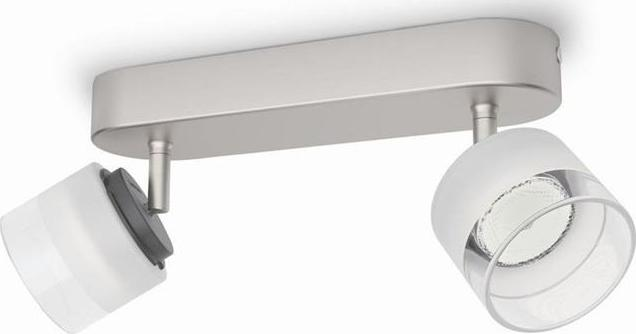 Philips LED fremont Leuchte Stelle chrom 2x4w 53332/17/16