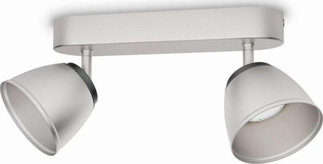 Philips LED county Leuchte Stelle chrom 2x4w 53352/17/16