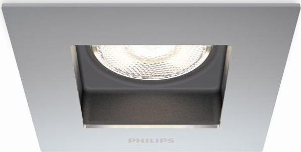 Philips LED porrima lampe eingebaute chrom 4,5w selv 59190/17/16