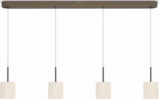 Philips LED ortega Deckenleuchten bronz 4x4,5w selv 37307/06/16